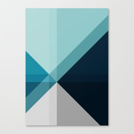 Geometric 1704 Canvas Print