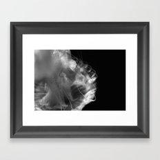 jelly in black and white Framed Art Print