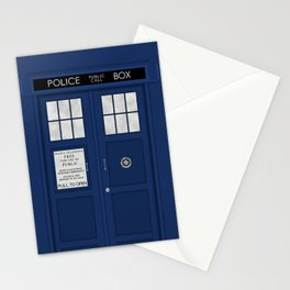 Doctor Who's Tardis Stationery Cards