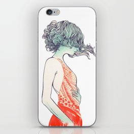 Red Dress iPhone Skin