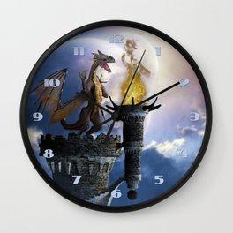 Dragon Land 2 Wall Clock