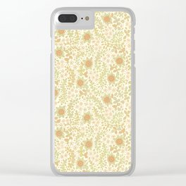 Succulent wanderings Clear iPhone Case
