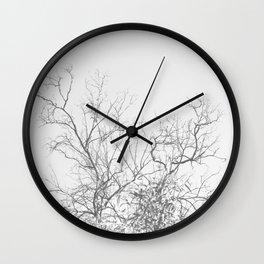 Dark Doom Forest Wall Clock