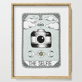 The Selfie Serving Tray