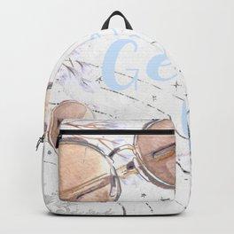 Geek Chic, Pretty in Blue Backpack