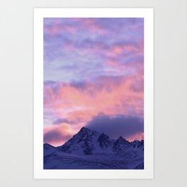 Rose Serenity Sunrise III Art Print