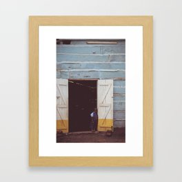 School house Framed Art Print