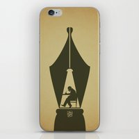 write iPhone & iPod Skins featuring Write by Inksider