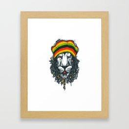 LION---MARLEY Framed Art Print