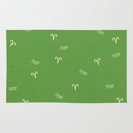 Aries Pattern - Green Rug