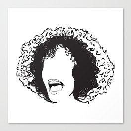 Great singer 3 Canvas Print