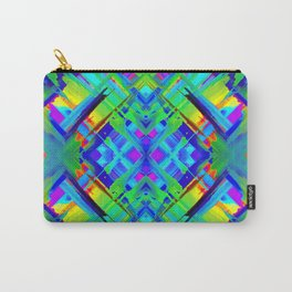 Colorful digital art splashing G476 Carry-All Pouch