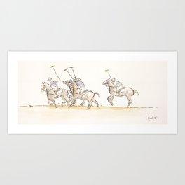 Chukkas Art Print