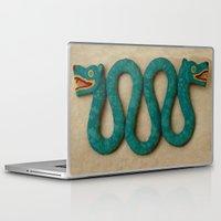 snake Laptop & iPad Skins featuring Snake  by Abundance