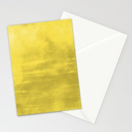 Burst of Color Abstract Watercolor Blend Pantone 2021 Color Of The Year Illuminating 13-0647 Stationery Cards