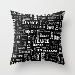 Just Dance! Throw Pillow