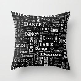 Just Dance! Throw Pillow