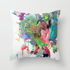 Fragile Droplets Throw Pillow