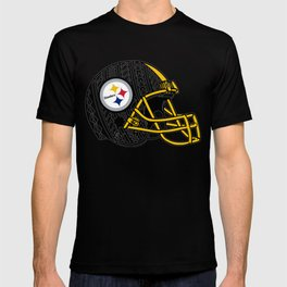 Polynesian style Steelers T-shirt