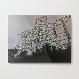 Roanoke Star Metal Print