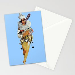 Send in the clowns Stationery Cards