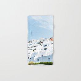 Lost in Santorini Greece Hand & Bath Towel