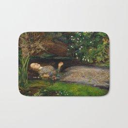 Ophelia, John Everett Millais Bath Mat