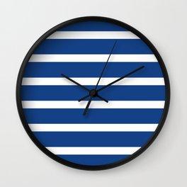 Avalon Stripe Wall Clock