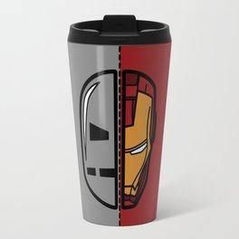 Old & New Iron Man Travel Mug