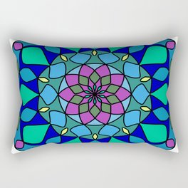 Circles ornament mandala Rectangular Pillow