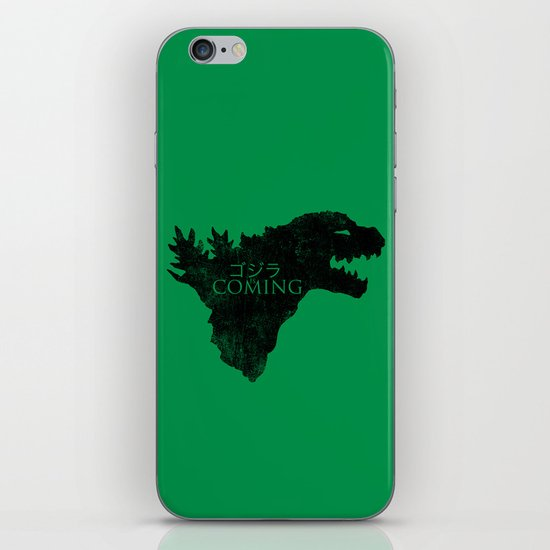 Zillafell iPhone & iPod Skin