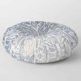 Gradient mandala Floor Pillow