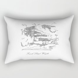 Frank Lloyd Wright Rectangular Pillow