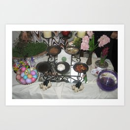 iranian new year  Art Print