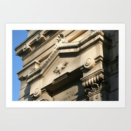 Roman Synagogue Art Print