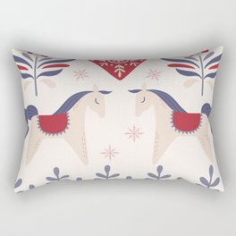 Swedish Christmas 3 Rectangular Pillow
