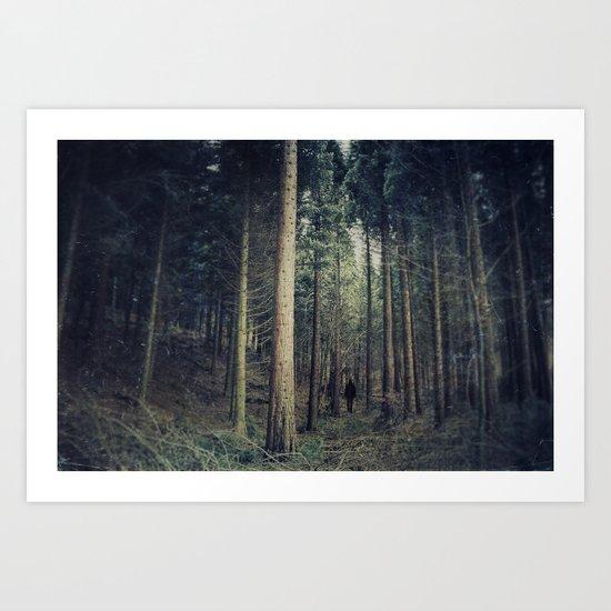 mystical journey Art Print