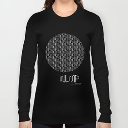 WUMP Collective Sphere in White Long Sleeve T-shirt