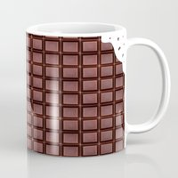 chocolate Mugs featuring Chocolate by Orosis