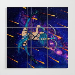 Pole Stars - SAGITTARIUS Wood Wall Art