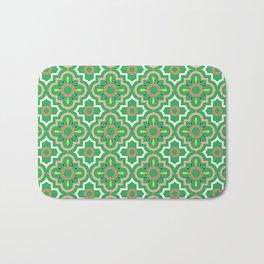 Medallions - Emerald Bath Mat