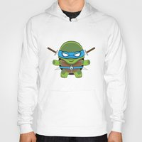leonardo Hoodies featuring Leonardo by LAckas