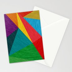 Poly Circle Stationery Cards
