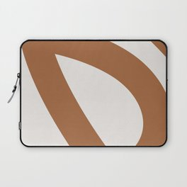 Neutral Abstract 2A Laptop Sleeve
