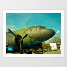 The aircraft of the Second World War. Art Print