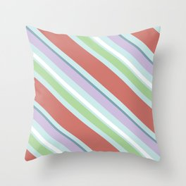 Raspberry Sorbet Throw Pillow