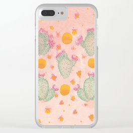 Desert Dreams Clear iPhone Case