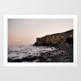 Crystal Cove, CA Art Print