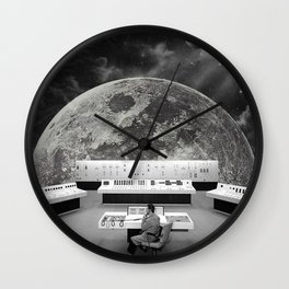 Calling for Help Wall Clock