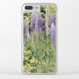 Lupins 3 Clear iPhone Case